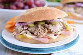 The Best Cuban Sandwich {Slow Cooker/Pressure Cooker}