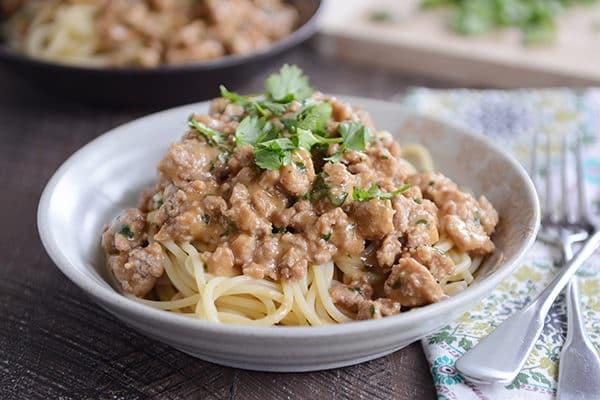 30-Minute Asian Dan Dan Noodles