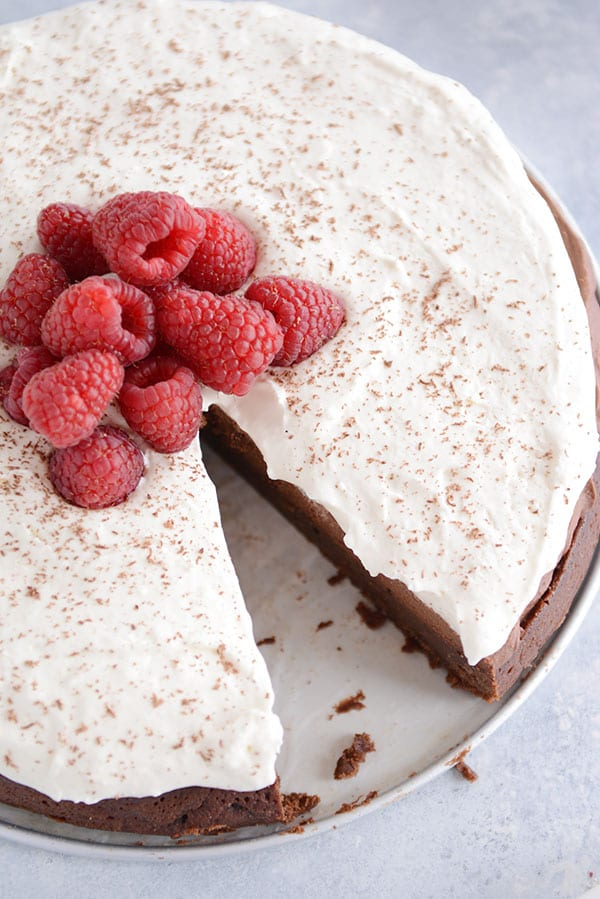 Double Chocolate Mousse Torte