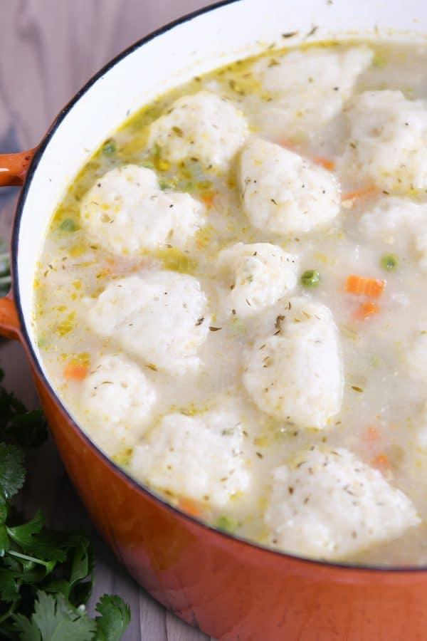 Chicken And Vegetable Dumpling Soup Mels Kitchen Cafe