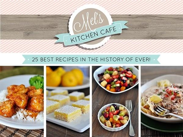 Mel's Kitchen Cafe Free eCookbook