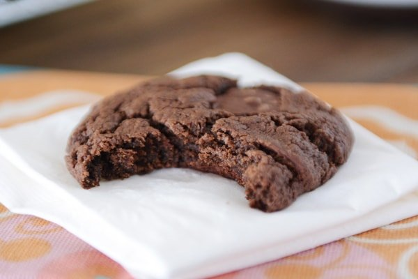 Egg-Free Double Chocolate Cookies