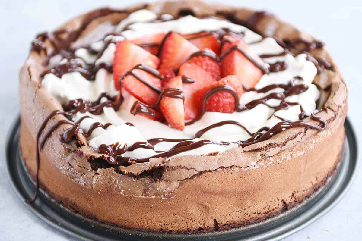 7790f312e77 Fallen Chocolate Cake