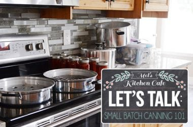 Small Batch Canning: A How-To Resource