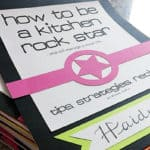 Kitchen Rock Star Class for Teenagers {Free Downloads!}