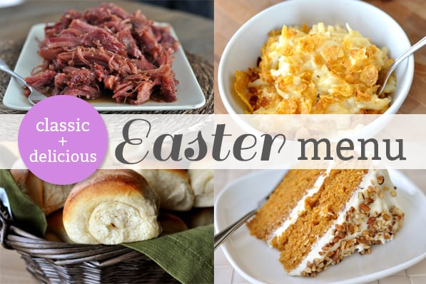Mels Kitchen Cafe  My Easter Dinner Menu + Other Easter Favorites