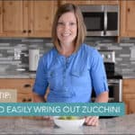 Video: How to Easily Wring Out Zucchini