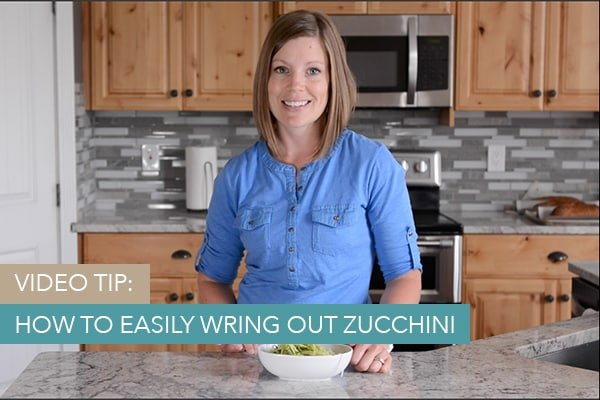 How to Easily Wring Out Zucchini
