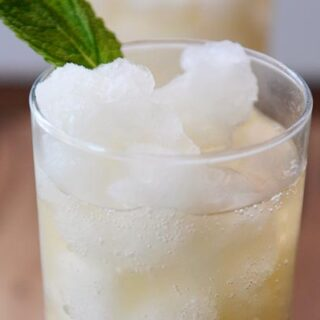 Frozen Mint Lemonade Slush