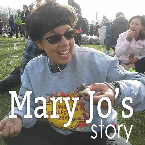 Mary Jo's Running Story