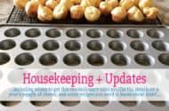 Housekeeping + Updates