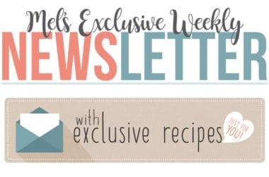 Mel's Exclusive Newsletter