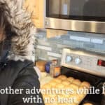 Snapshot Saturday: Cooking in a Parka…