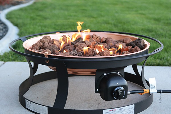 Portable Fire Pit Giveaway + Our Favorite Campfire Recipe