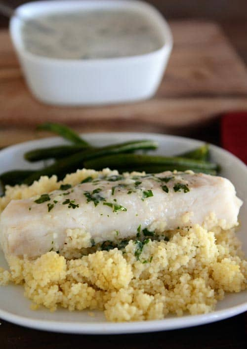 Thai-Style Fish and Creamy Couscous Packets