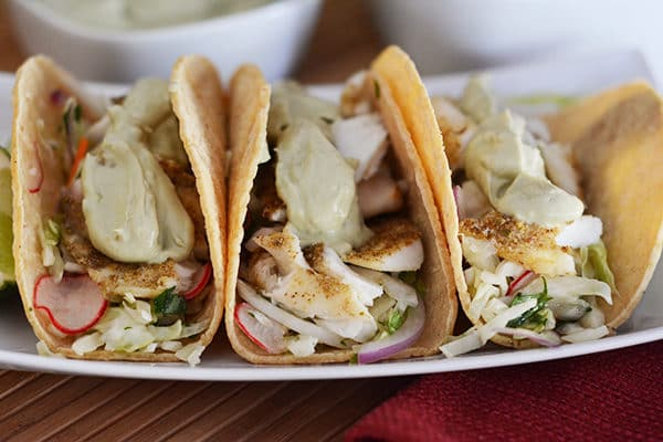 Broiled Fish Tacos