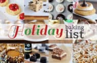The Ultimate Holiday Baking List