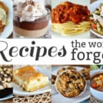Recipes the World Forgot {Part 11}