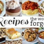 Recipes the World Forgot {Part 11}