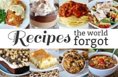 Recipes the World Forgot 11