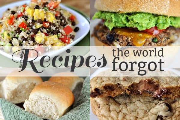 Recipes the World Forgot