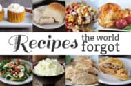 Recipes the World Forgot: Thanksgiving