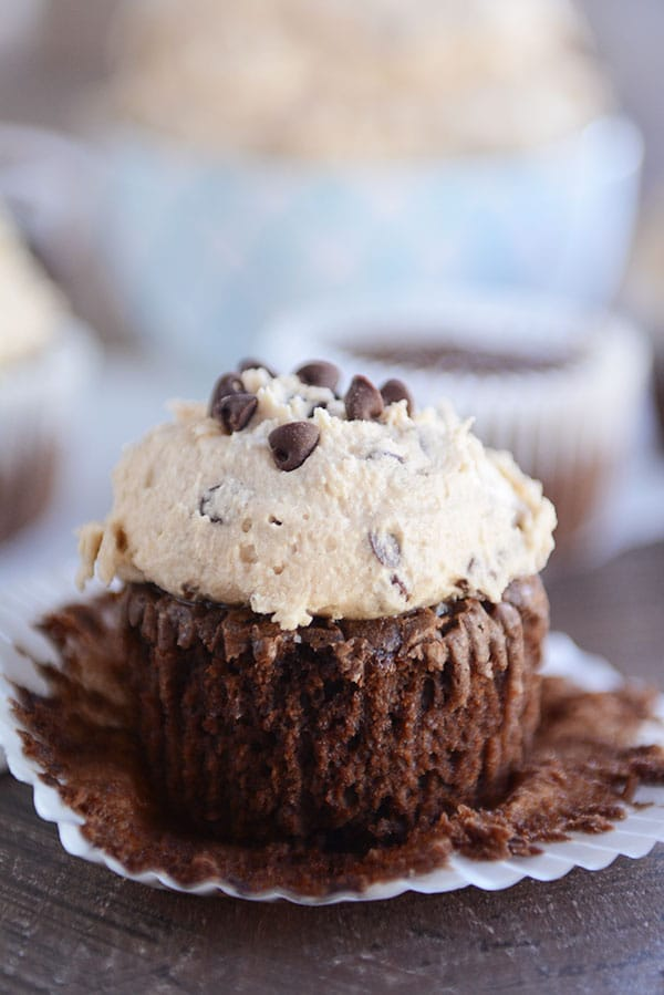 Chocolate Fudge Brownie Cupcakes