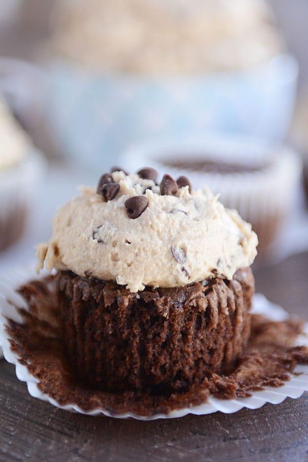 Chocolate Fudge Brownie Cupcakes