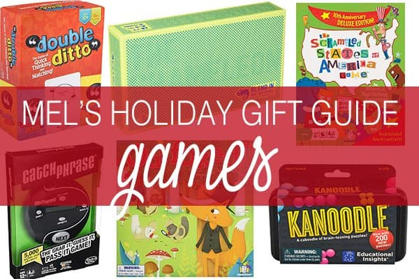 Mel's Holiday Gift Guide: All New Games! {Plus a Quick List