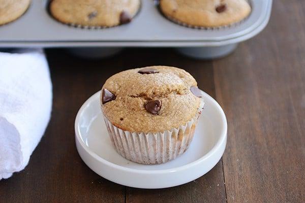 Gluten-Free Banana Chocolate Chip Muffins