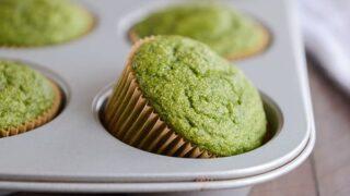 Whole Grain Green Hulk Muffins