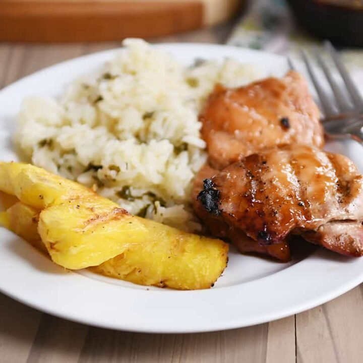 Easy Grilled Hawaiian Chicken Recipe Mel S Kitchen Cafe