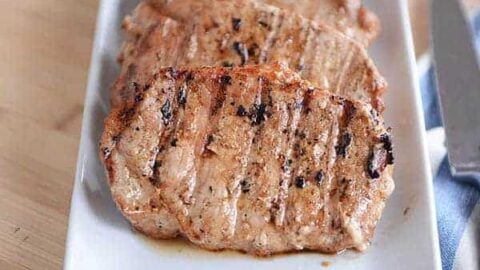 dash diet boneless pork chops