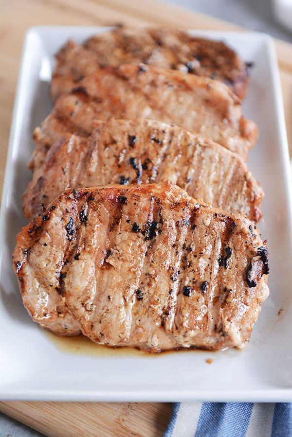 Tender Grilled Pork Chops