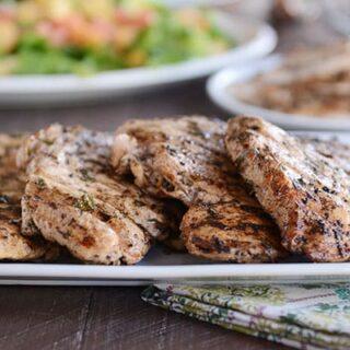 Grilled Sesame Herb Chicken