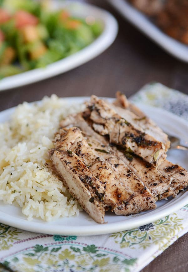 Grilled Sesame Herb Chicken
