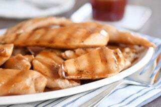 Grilled Sweet and Sour Chicken