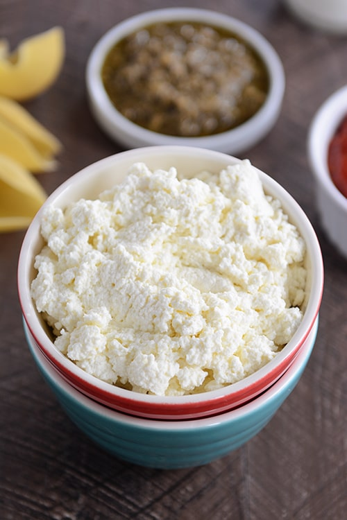 Homemade Ricotta Cheese {In Under an Hour}