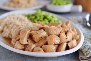 Skillet Honey Garlic Chicken {20-Minute Meal}