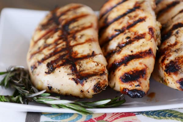 Honey Mustard Rosemary Chicken