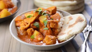Instant Pot Indian Butter Chicken and Potato Curry