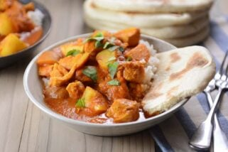 Amazing Instant Pot Indian Butter Chicken and Potato Curry