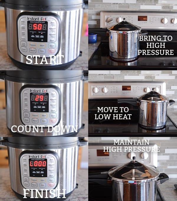 pressure cooker dulce de leche