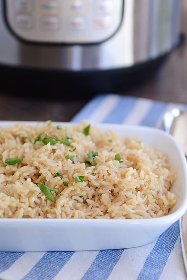 how to cook perfect brown rice in a pot
