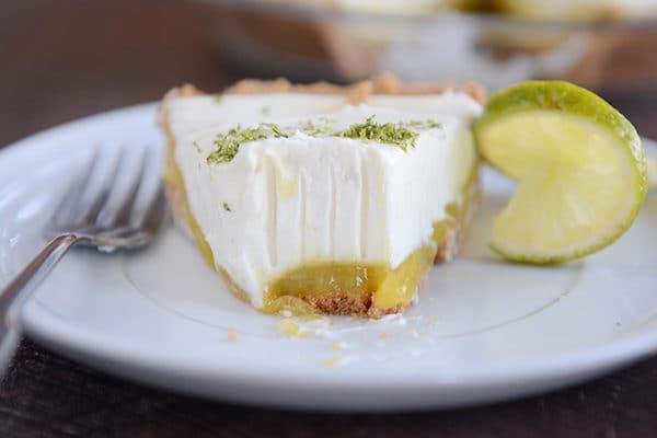 Key Lime White Chocolate Cheesecake Pie