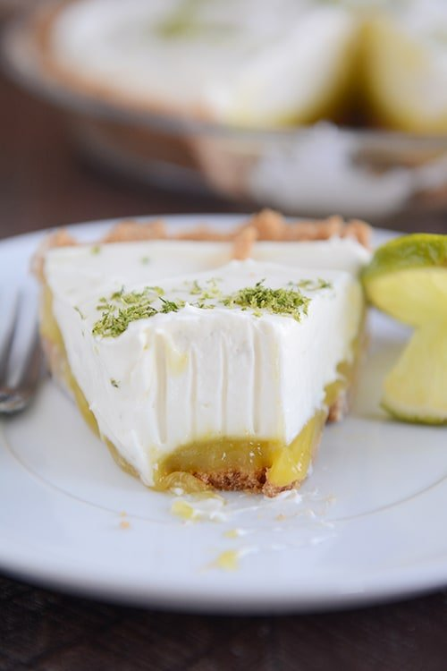 Key Lime White Chocolate Cheesecake Pie