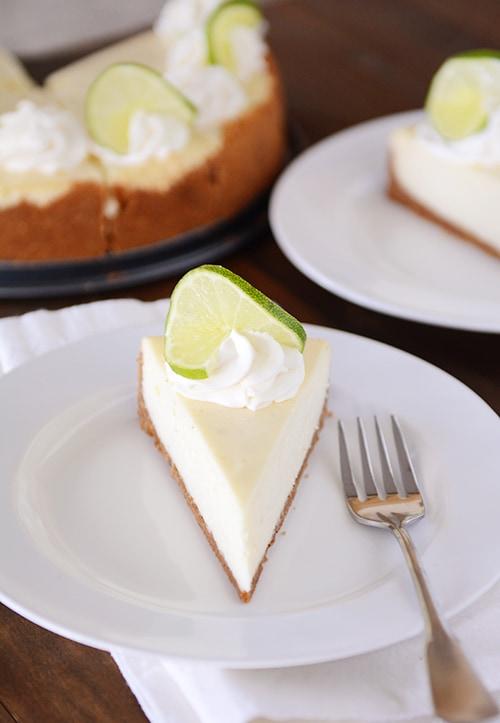 Amazing Key Lime Cheesecake