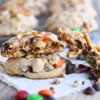 Peanut Butter Kitchen Sink Cookies