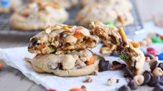 Peanut Butter Kitchen Sink Cookies