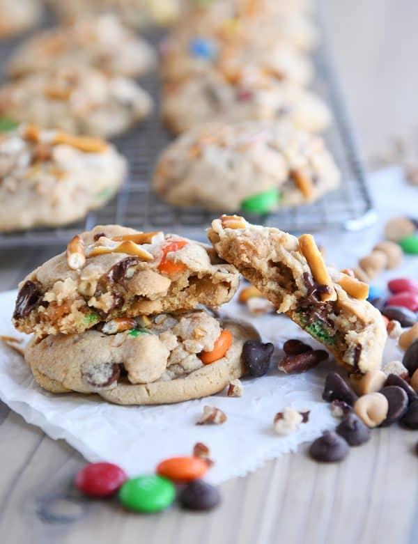 Brilliant Peanut Butter Kitchen Sink Cookies Caramel Pretzels Mms Download Free Architecture Designs Lectubocepmadebymaigaardcom